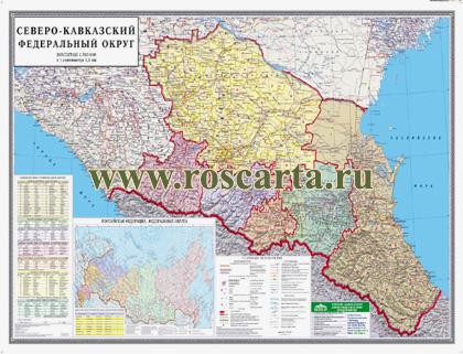 Карта Северо-Кавказского